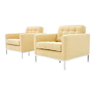 Florence Knoll Lounge Chairs for Knoll International For Sale