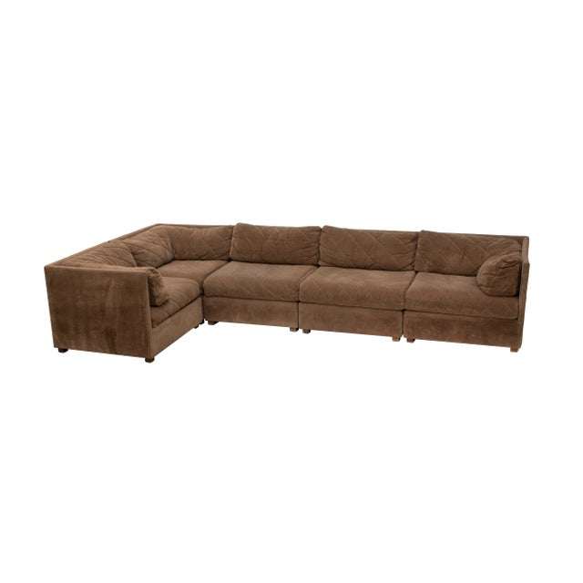 Modular Sectional Sofa by Selig, 5 Pieces For Sale - Image 6 of 13