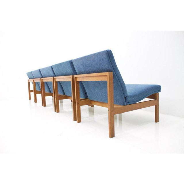 Torben Lind Modular Seating Group With Corner Table France & Son 1965 For Sale - Image 11 of 12