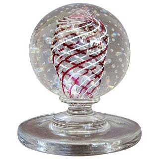 Mid-Century Pairpoint Art Glass Sculpture For Sale