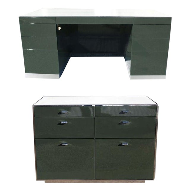 Davis Allen for Gf Desk and Credenza For Sale