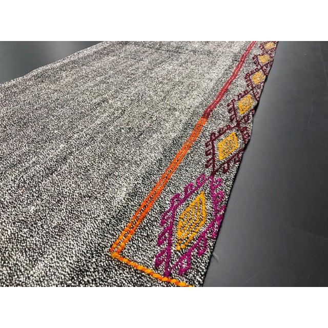 Vintage Turkish Handwoven Aztec Corridor Kilim Rug - 2′3″ × 7′3″ For Sale In Phoenix - Image 6 of 11