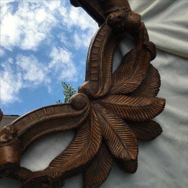 Burnished Wood Tropical Monkey Mirror - Image 3 of 9