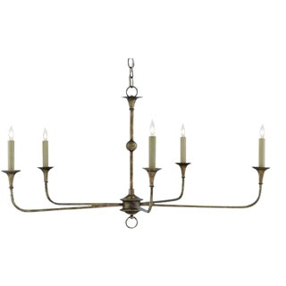 Currey & Co Nottaway Chandelier For Sale