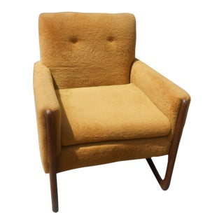 Vintage Mid-Century Modern Adrian Pearsall Lounge / Club Chair For Sale