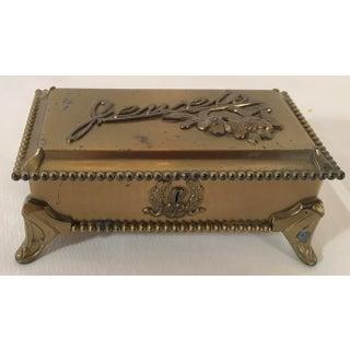 "Vintage Quadruple Plate ""Jewels"" Jewelry Box Preview"