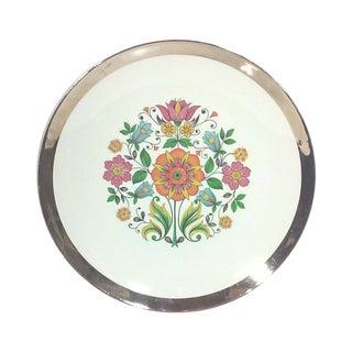 English Botanical Cabinet Plate