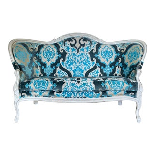 Vintage French Louis XVI Settee For Sale