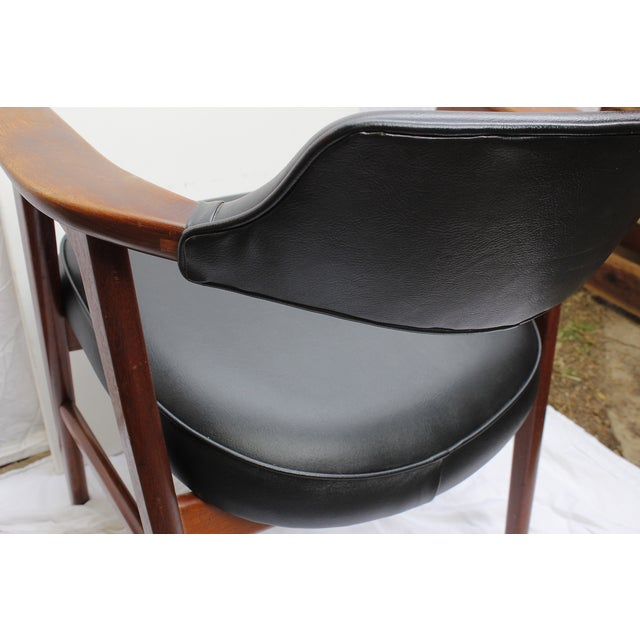 Erik Kirkegaard Mid-Century Danish Desk Chair - Image 4 of 7