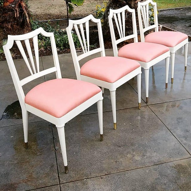 1930s Vintage Paul Frank Dinning Chairs- Set of 4 For Sale - Image 13 of 13