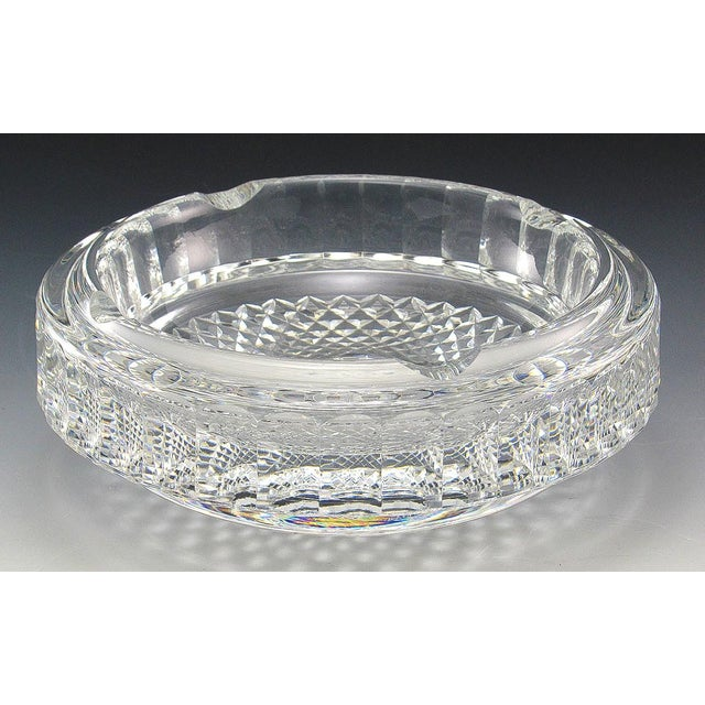 Waterford Crystal Waterford Lismore Ashtray For Sale - Image 4 of 4