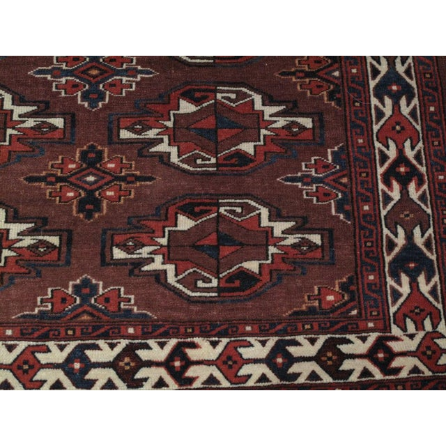 """Antique Turkmen """"Chuval"""" For Sale In New York - Image 6 of 7"""