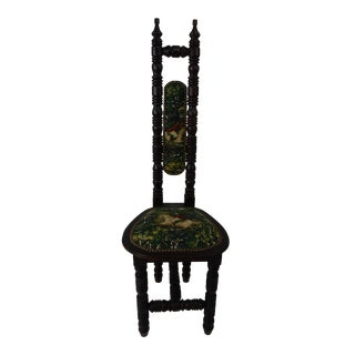 Antique Mission Arts and Crafts Accent Chair For Sale