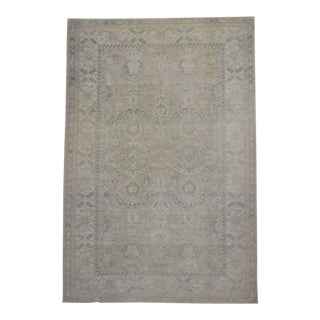 New Transitional Rug with Muted Colors and Modern Style