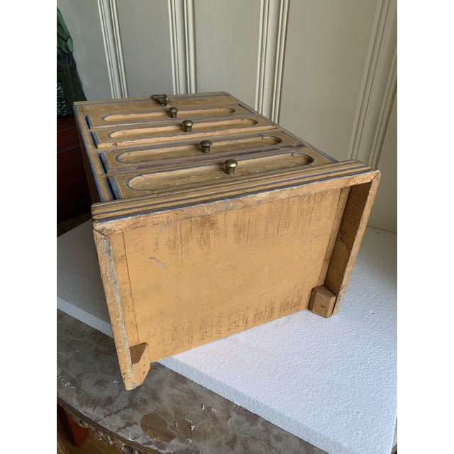 Wood Boho Rustic Chic Jewelry Organizer Box For Sale - Image 7 of 13
