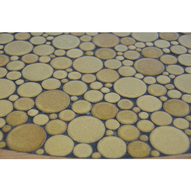 Ceramic Tile-Top Coffee Table by Gordon and Jane Martz For Sale In Boston - Image 6 of 8