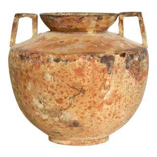 Fine Rare Antique Japanese Decorative Cast Iron Vase Ikebana For Sale