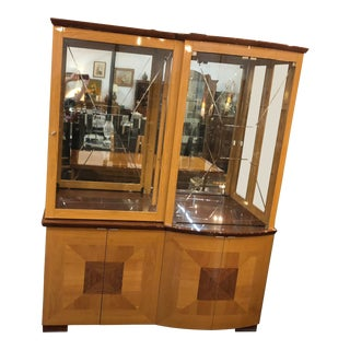 Italian Grand Display Cabinet For Sale