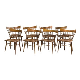 Edmund J. Spence Seagrass Dining Chairs - Set of 8