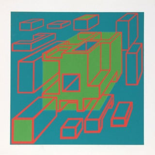 """Exploded View"" Silkscreen by Roy Ahlgren For Sale"