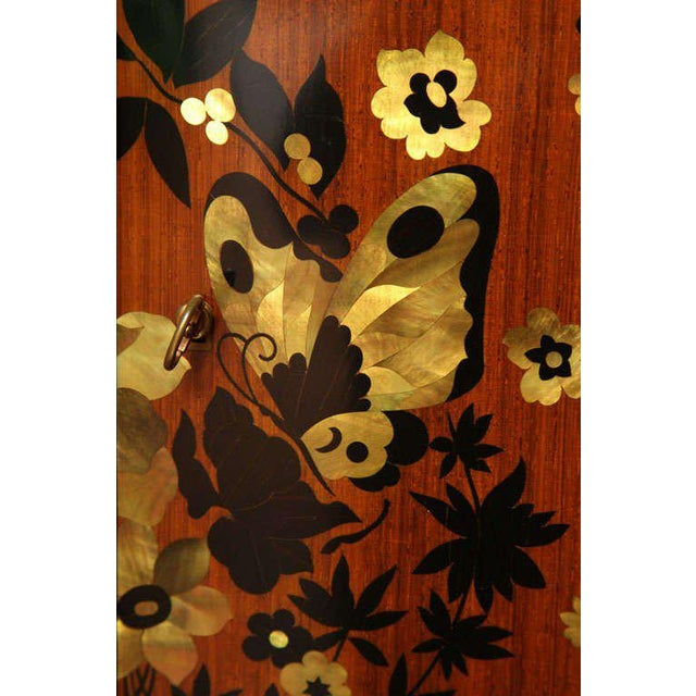 Jules Leleu Fine Art Deco Sideboard by Jules Leleu For Sale - Image 4 of 9