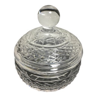 Waterford Cut Crystal Covered Dish For Sale