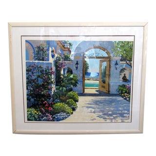 Framed Garden Print For Sale