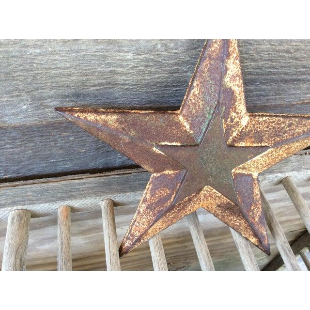 Vintage Cast Iron Star - Image 4 of 6