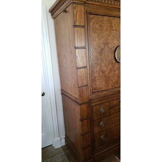 Drexel Heritage Burled Wood Armoire Preview