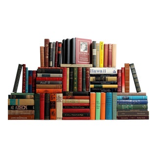 Vintage American Classics: Libraries by the Foot For Sale