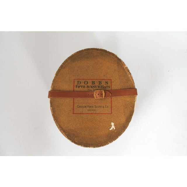 Americana Dobbs Fifth Avenue New York Hat Box For Sale - Image 3 of 8
