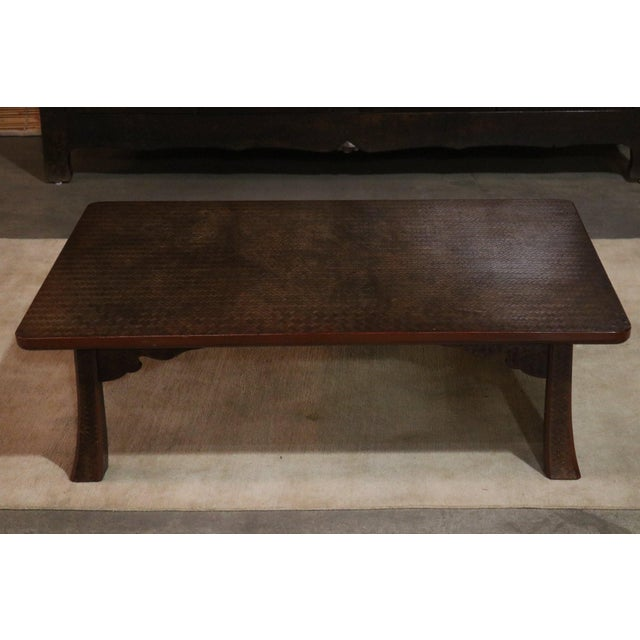 Late 19th C. Japanese Ajiro Table For Sale In Los Angeles - Image 6 of 6