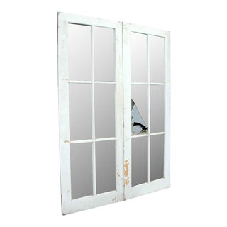 White French Doors - A Pair