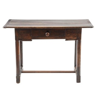 English Poplar Writing Table