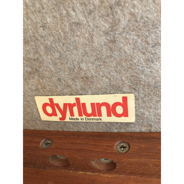Mid-Century Danish Dyrlund Teak Chairs - Set of 4 For Sale In Los Angeles - Image 6 of 7