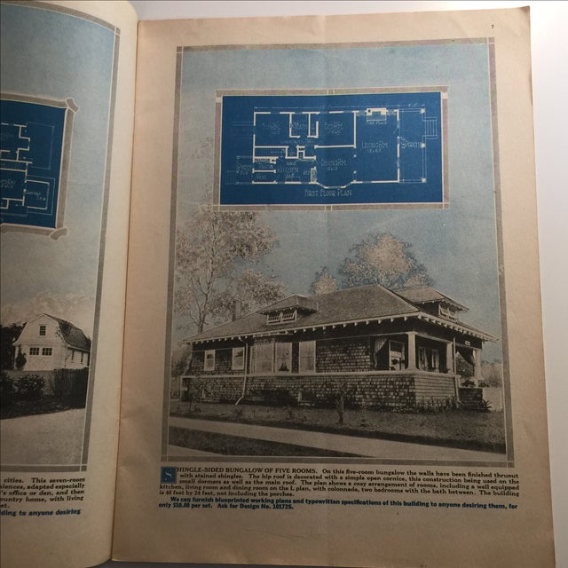 Home builder with blueprint plans 1919 mineola ny chairish home builder with blueprint plans 1919 mineola ny image 4 of 7 malvernweather Gallery