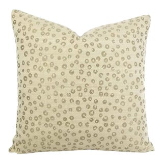 "Lee Industries Nickels in the Color Taupe Pillow Cover - 20"" X 20"" For Sale"