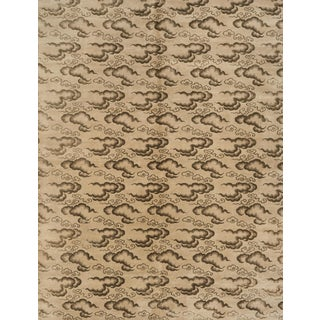 Schumacher Clouds Area Rug in Hand-Knotted Wool Silk, Patterson Flynn Martin For Sale