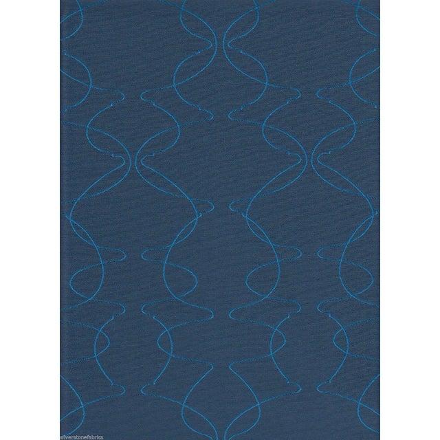 Luna Textiles Reversible Mezzanine in Mermaid Blue - 18 Yds - Image 3 of 3