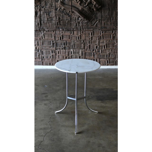 1970s 1975 Vintage Cedric Hartman Occasional Table For Sale - Image 5 of 7