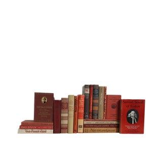 New England Brownstone : Set of Twenty Decorative Books