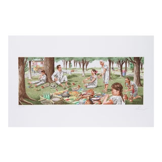 Vic Herman, Tortillas Are the Staff of Life, Lithograph For Sale