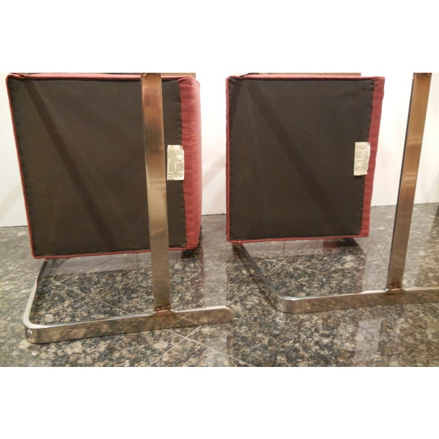 Pair of 1960s Mies Van Der Rohe Brno Chairs for Bruerton - a Pair - Image 7 of 11