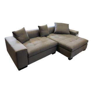 New Della Robbia Eureka 2pc Sectional For Sale