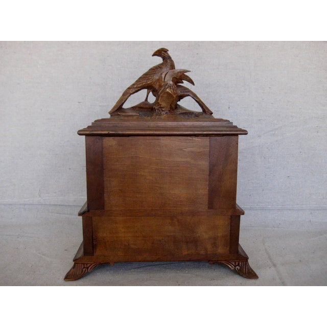 19 Century Black Forest Jewelry Box For Sale - Image 6 of 12