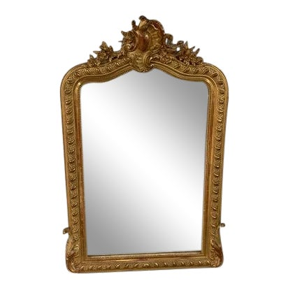 18th Century Grand Louis Philippe Mirror For Sale