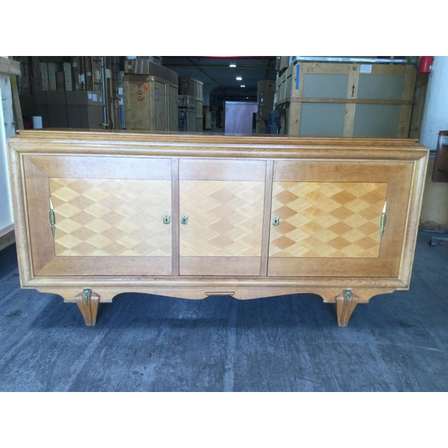 1930s Vintage French Art Deco Credenza For Sale - Image 9 of 9