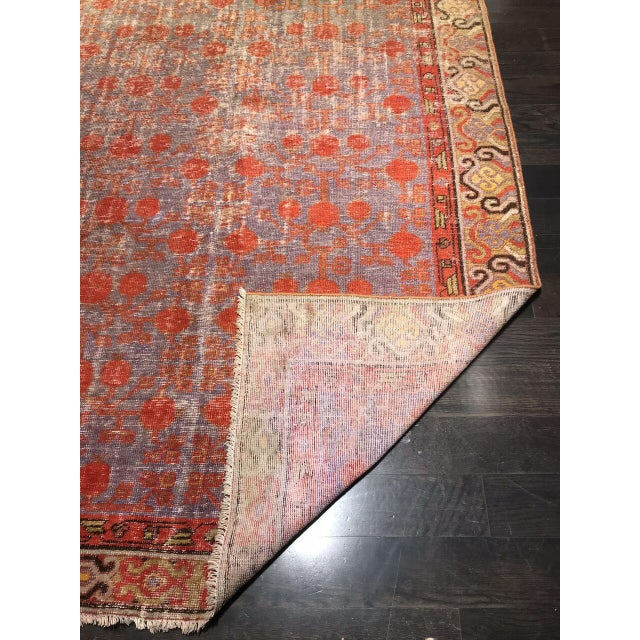 "Traditional Bellwether Rugs Antique Kotan ""Maya"" Rug - 12'4"" X 5'8"" For Sale - Image 3 of 5"