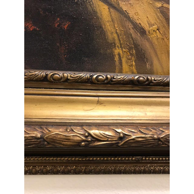 French Style Oil Painting For Sale - Image 10 of 11