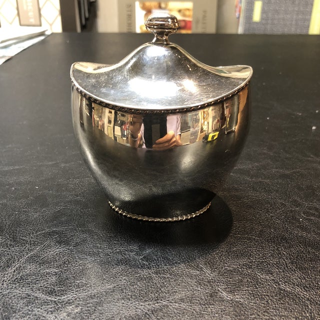 Late 19th Century Silver Plate Tea Caddy For Sale - Image 5 of 5